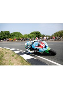Dean Harrison at the Gooseneck TT 2018 Print