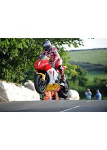 Gary Johnson Ballaugh Superbike Practice TT 2009