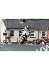 John McGuinness TT 2011 Supersport 1 Race Ballaugh