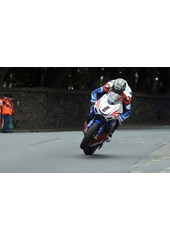 John McGuinness TT 2011 Superbike out of seat St Ninians