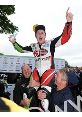 Michael Dunlop TT 2011 Superstock Winner Shoulders
