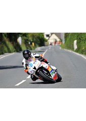 Bruce Anstey TT 2011 Supersport 1 Winner Signpost