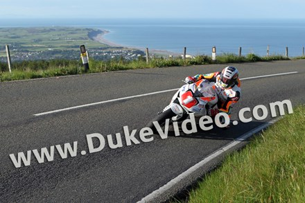 John McGuinness TT 2012 above Ramsey - click to enlarge