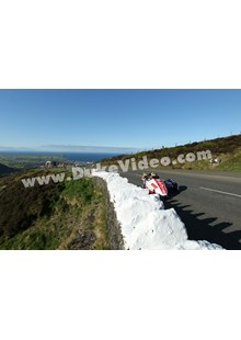 Tim Reeves and Dan Sayle climb the Mountain, TT 2013