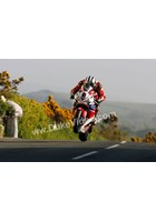 Michael Dunlop jumps TT 2013