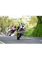 Michael Dunlop leads Hutchy and Bruce Anstey, Barregarrow