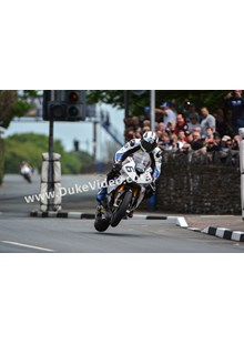 Michael Dunlop at St Ninian's, TT 2014