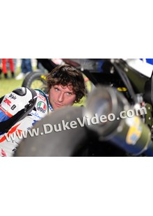 Guy Martin Exhaust Scarborough 2012 Print