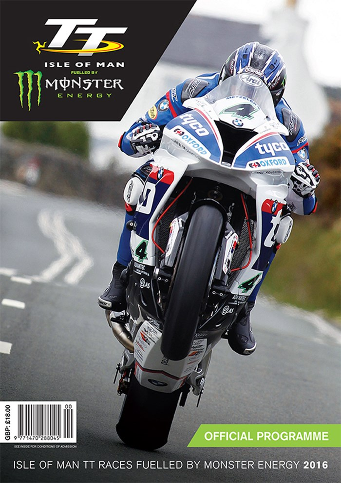TT 2016 Programme, Race and Spectator Guide