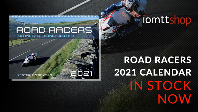 2021 Road Racers Calendars in stock now
